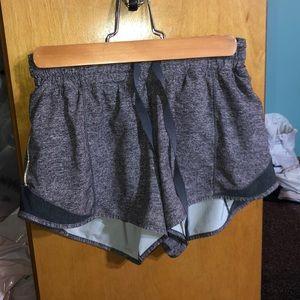 """Lululemon Hotty Hot Shorts 4"""" seam"""